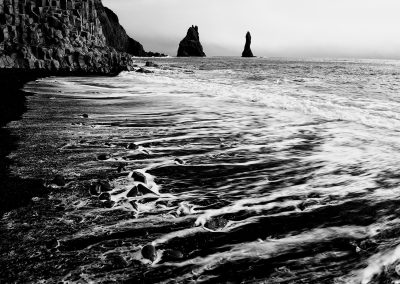 Needles of rock, Reynisdrangergar_Iceland