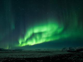 Jökulsárlón Aurora Borealis