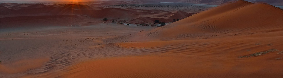 A new day in Sossusvlei