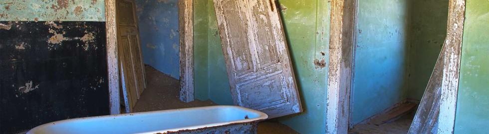 Bathroom at Kolmanskop