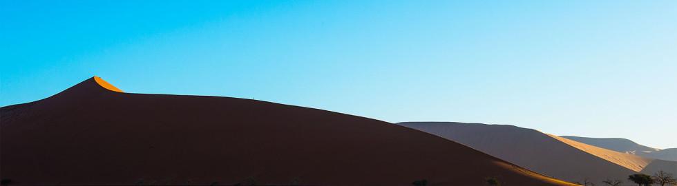 One man on Dune 45