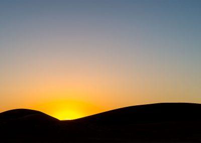 Deadvlei dunes late evening
