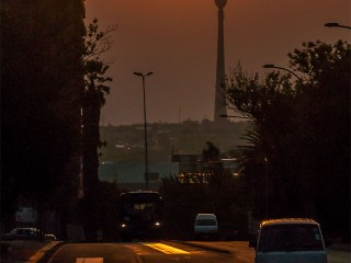 Sunset in Jozi