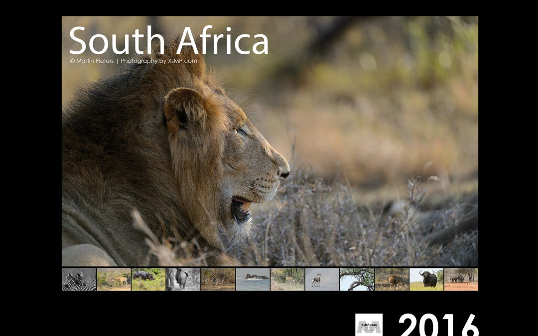 Order your 2016 calendar of South Africa