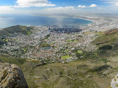 Table mountain, Cape Town, SA